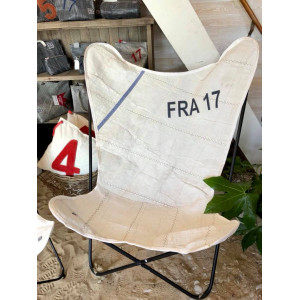 Voile, bateau,upcycling, recyclée, recyclée