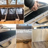 Housse pour panneaux solaire